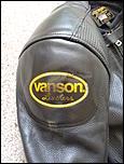 Vanson 1 Piece Suit-rh-shoulder-jpg