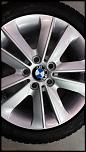 4 BMW OEM wheels with RFT snow tires in very good condition (Boston, MA)-wheel-jpg
