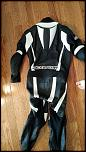 Fs practically new leather suit and new unused back protector-img_20170722_082650-jpg