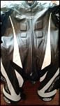 Fs practically new leather suit and new unused back protector-img_20170722_082949-jpg