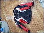 Shift textile jacket, Large, Red white and black-20180422_142010-jpg