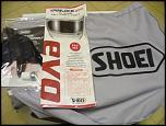 NEW IN BOX, LARGE SHOEI GT-AIR HELMET, BLACK W/ INTERNAL SUN SHIELD-helmet2-jpg