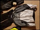 Cleaning out the closet- suit/jackets/rain suit/boots/chest/back protector-20180930_193627-jpg