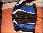 Cleaning out the closet- suit/jackets/rain suit/boots/chest/back protector-20180930_195745-jpg