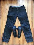 Dainese Riding Jeans (EVO D1) + Kit J Knee Armor - Size 33 - 0-img_1036-jpg