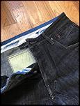 Dainese Riding Jeans (EVO D1) + Kit J Knee Armor - Size 33 - 0-img_1037-jpg