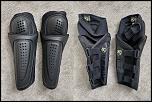 Vanson, Syed, TLD, Alpinestars, Road + DS gear for sale-icon-kneeguards-jpg