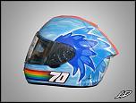 Custom painting, helmets, bikes etc.-jen_dunstan-jpg